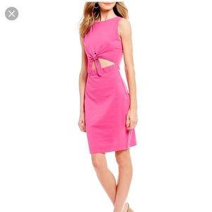Buffalo David BittonTie Front Cutout Midi Dress